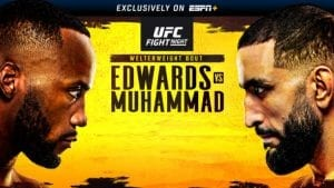 ufc edwards vs muhammad picks