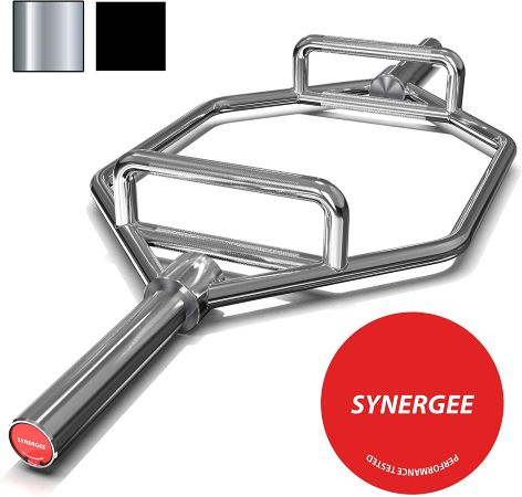 Synergee Olympic Hex Barbell Trap Bar