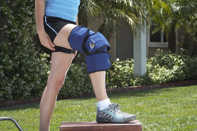 A to P Total Knee Ice Wrap